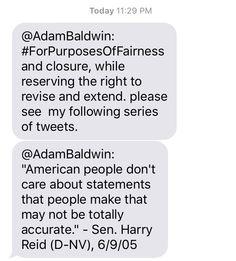 Adam Baldwin, Don't Care