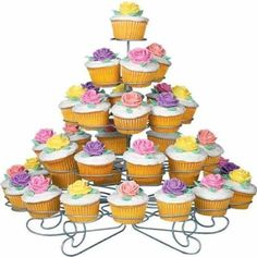 Amazon: 5 Tier 41 Count Cupcake Tower Stand Only $15.66 (Reg. $59.99) - Raining Hot Coupons