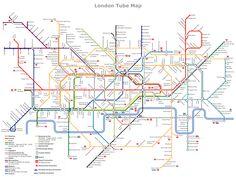 Variant of London Underground map.