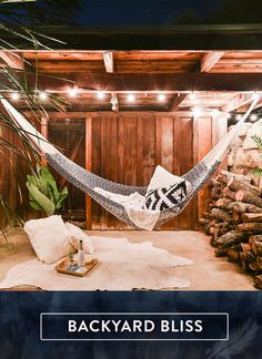 Don't wait! Make the most of your backyard this summer with a dreamy hammock escape. Discover your bliss: yellowleafhammocks.com