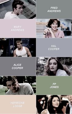 ❀ riverdale ❀ the old gang