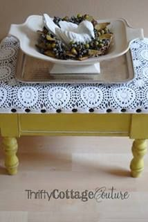 English Yellow with dark wax - Annie Sloan Chalk Paint® - Thrifty Cottage Couture