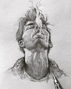 Portrait Art Time Travel - Page 6 of 40 - .-Portrait Art Time Travel – Page 6 of 40 – Portrait Art Time Travel – Page 6 of 40 – - Tumblr Drawings, Pencil Art Drawings, Art Drawings Sketches, Realistic Drawings, Easy Drawings, Sketch Drawing, Drawing Ideas, Drawing Drawing, Drawing Tips