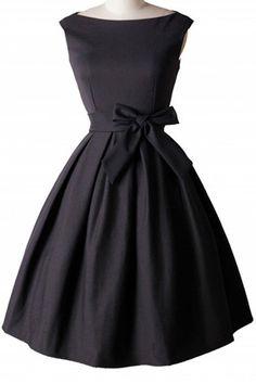 Bowknot Embellished Slash Neck Sleeveless Ball Gown Dress