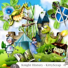 Knight History (Les Essentiels) by KittyScrap http://digital-crea.fr/shop/index.php?main_page=product_info&cPath=336_424&products_id=24530