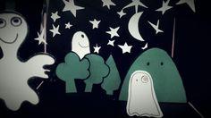 Crea il tuo teatrino di Halloween con il cartoncino on http://psicomamme.it