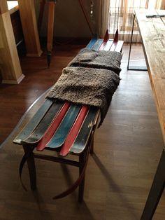 skilounge2015.tictail.com #skilounge #skibrett #handmade #ski #design #holz #bank #bench #interior #boxes #vintage #charm #unikat #upcycling #garderobe #work #schlüsselbret #freiraum