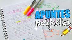 APUNTES PERFECTOS ¿COMO HACER TITULOS BONITOS? (PARTE 2) - YouTube