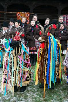 Winter Solstice, Slavic and Balkan Maramures Romania People, City People, Black Sea, Winter Solstice, People Of The World, Anthropology, Christmas Traditions, 1 Decembrie, Africa