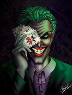 Colorful Joker And Harley Quinn Art - Sci-Fi Design Joker Dc Comics, Arte Dc Comics, Der Joker, Joker Art, Joker Frases, Joker Drawings, Joker Pics, Batman Tattoo, Joker Wallpapers
