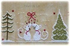 Réf. Snowly le petit bonhomme de neige Inclus: diagramme - taille du dessin: 81x91 points Fils préconisés: DMC:...
