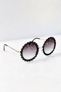 Flower Patch Round Sunglasses