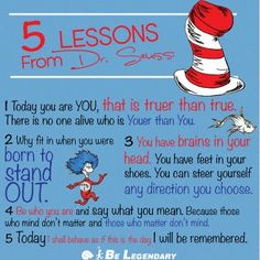 5 Lessons from Dr, Seuss.