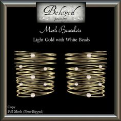 Be Loved By Beloved Jewelry Gifts Second Life. Visit the nessmarket SL blog for freebies and gifts. The mesh bracelet with the beads or pearls is a
