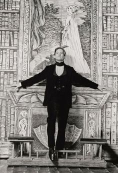 The fact that it's Jeremy Brett against an Edward Gorey set basically makes this the best thing ever.