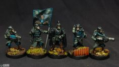 Death Korp of Krieg command squad