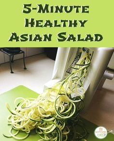 You won't believe how quick and easy this Asian salad recipe is! | Fit Bottomed Eats