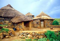 Mokhotlong, Lesotho Village Houses, Fairy Houses, Time For Africa, Durban South Africa, Jungle House, Vernacular Architecture, And So The Adventure Begins, Amazing Architecture, Traditional House