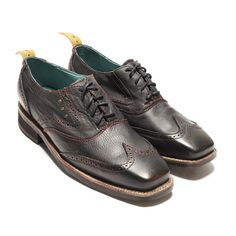 Sidewalk Wingtip Shoe Black, $120, now featured on Fab.
