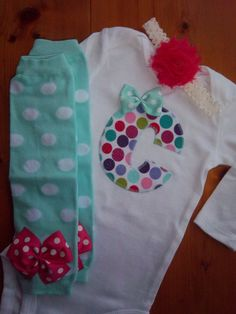 ADOREABLE  Baby Girl Outfit Birthday Outfit by LilBeanBabyBoutique on Etsy, $33.99
