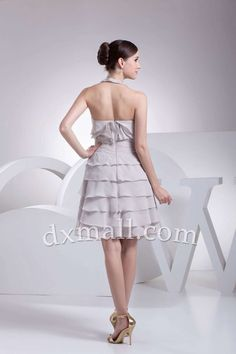 A-line Wedding Guest Dresses Picture Shown Knee Length Chiffon picture shown 130010100072