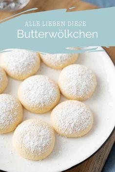 No Bake Cookies, Cupcake Cookies, Baking Recipes, Cake Recipes, German Desserts, Tasty Bites, Bakery, Brunch, Food And Drink