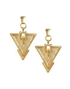 Gogo Philip Deco Triangle Earrings