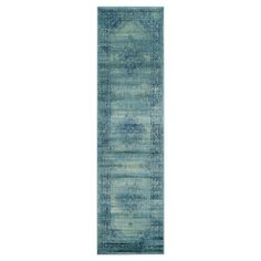 Safavieh Adalene Vintage Inspired Rug - Turquoise / Multi (2'6X10')