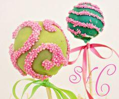 Sugar flowers Creations-Nicky Lamprinou: Cake pops Για το παιδικό πάρτυ