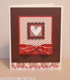 Cute by the Inch Heart by OregonStamper - Cards and Paper Crafts at Splitcoaststampers