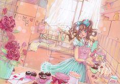 Sweet Lolita - in love by nao--ren.deviantart.com on @deviantART #fairykei   #sweetlolita