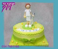 cake tennis - Поиск в Google Rodjendanske Torte, Party Cakes, Cake Designs, Birthday Cake, Desserts, Polymer Clay, Explore, Food, Google