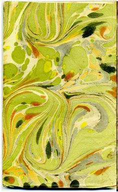 Marbled paper....make for my bedroom in teals and corals