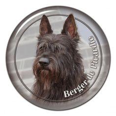 Berger de Picardie 3D sticker - #bergerdepicardie