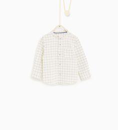 Camisa quadrado janela