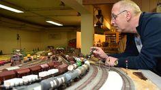 Für Freunde geschrumpfter Lokomotiven ist es ein Paradies: Das beschauliche Reich der Eisenbahnfreunde Stolberg in der Ardennenstraße.