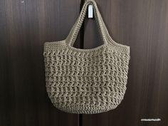 【編み図】麻ひも風コットンの丸底トート – かぎ針編みの無料編み図 Atelier *mati*