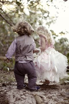 Sweetest flowergirl & pageboy style shoot.