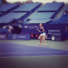 "@harpey77's photo: ""100+mph serves. Say what?   #nho12 #wta #tennis"""