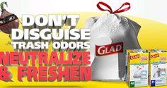 $1.00 off Glad ForceFlex or OdorShield Trash Bags