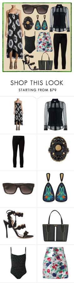 """See The Latest Products"" by cate-jennifer ❤ liked on Polyvore featuring Bishop + Young, RED Valentino, J Brand, Gucci, Anna e Alex, Tabitha Simmons, Bally, Filles à papa and MSGM"