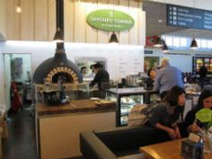 Patagonia Cafe... how about a hot chocolate with a side of chocolate at Queenstown Airport before carrying on your way!