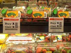 Bagi Fresh People yang menyukai Buah Strawberry, kini ada promo khusus untuk setiap pembelian Strawberry Holland di Hero Supermarket  Dapatkan promo Buy 1 Get 1 FREE untuk pembelian Starwberry Holland 250 gr di store Hero. Yuk berbelanja #MyHERO