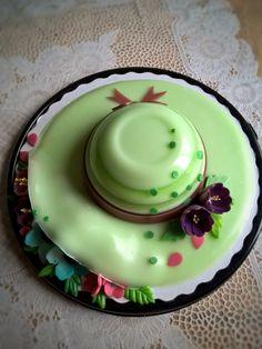 Floralhat   #jellycake #thạchhoanổi #agarcake