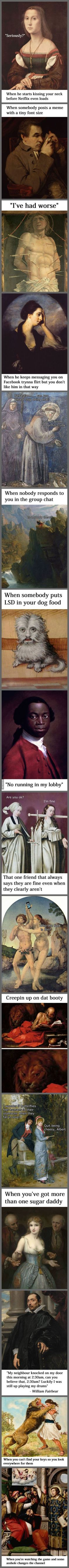 Classical Art Memes Latest (Part-11)