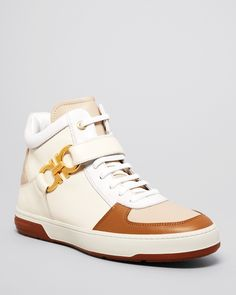Salvatore Ferragamo Nayon High Top Sneakers  Earn when you shop and share on haveyouseen.com!
