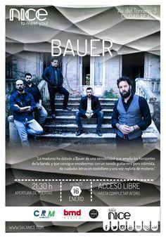 31Canciones presenta a Bauer en Sala Nice (Ciudad Real)