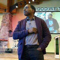 Preaching from my heart to the ministers here in Colorado!