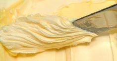 Aprenda a preparar sua manteiga caseira com apenas dois ingredientes