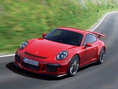 ポルシェの『911』シリーズの自然吸気エンジン搭載車の最高峰モデル、『911 GT3』。同車の改良新型車の画像が、リークされた。